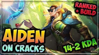 HEROES EVOLVED - AIDEN BUILD | WHAT HAPPENED TO AIDEN?? | RANKED GAMEPLAY!!