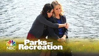 Parks and Recreation - April and Leslie's Heart to Heart (Episode Highlight)