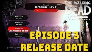 """The Walking Dead:Season 4 Episode 3 """"Broken Toys"""" Release Date Confirmed! - The Final Season"""
