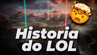A HISTÓRIA DO LOL - (CURIOSOS DO LOL)