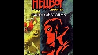Hellboy Animated Sword Of Storms 2006 Animated Movie