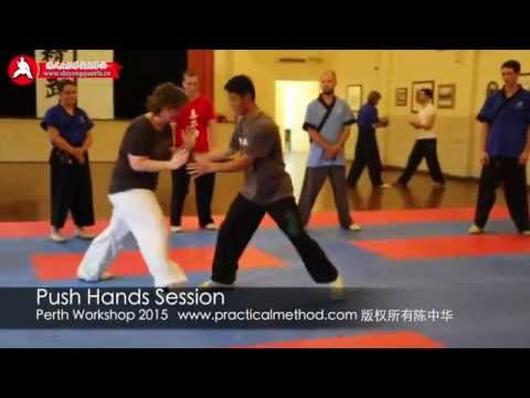 Push Hands Session (Perth 2015)