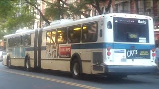 [MTA]: Lower E. Side Bound 1999 D60HF [#5485] M14D Bus @ 14th St