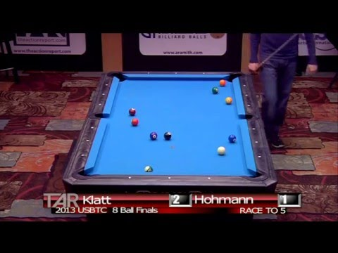 2013 US Bar Table Championships 8 BALL FINAL Jason Klatt vs Thorsten Hohmann