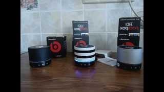 Включение FM радио Bluetooth колонки Beatbox by dr. Dre S11