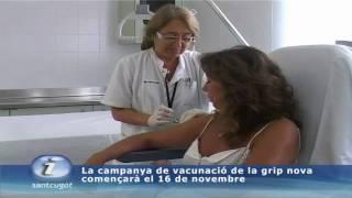La campanya de vacunació de la grip nova començarà el 16 de novembre
