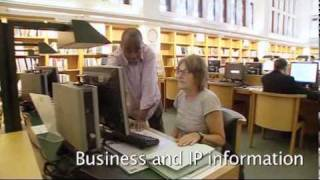 Virtual tour of the British Library Business & IP Centre in London
