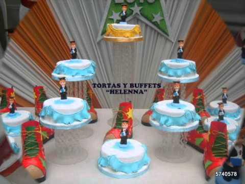 TORTAS PARA PROMOCIONES Y GRADUACIONES HELENNA