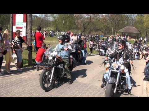 V zlot organizowany przez Międzychodzki Klub Motocyklowy Junak 27 29.04.2012