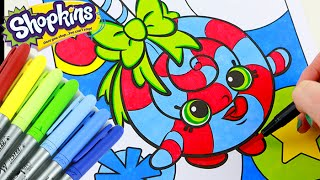 Shopkins LOLLI POPPINS Speed Coloring Book with Markers
