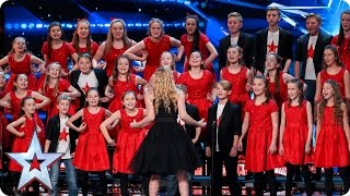 Perfect Pitch Creation are the King of the swingers | Auditions Week 4 | Britain's Got Talent 2017