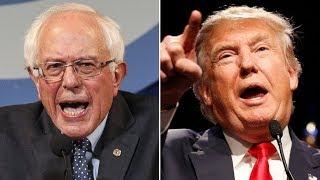 Trump: Bernie Would Run Against Me 'Even If He's In A Wheelchair'