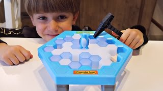 Penguin Trap Funny Game Activate - Family Fun Play