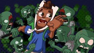 4 Humans Vs 96 Zombies - PUBG Zombies Mode Mayhem! Funny Moments