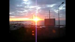 sunset of galway bay