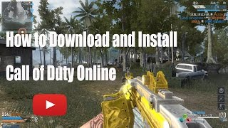 How to Download and Install Call of Duty Online - China
