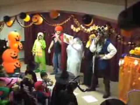 Five Little Pumpkins Halloween Song for Children