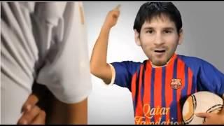 Messi y Ronaldo bailando i´m sexist and i know it