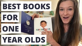 Best Books for One Year Old Toddlers