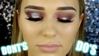 Eyeshadow Do's & Dont's | Makeup Mistakes To Avoid