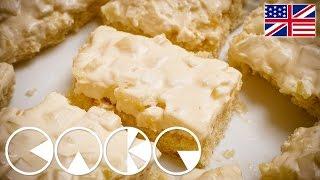 PINEAPPLE CREAM SLICES Recipe