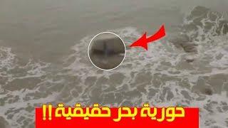 6 مقاطع فيديو لحوريات بحر  حقيقية !! شاهد وتأكد بنفسك