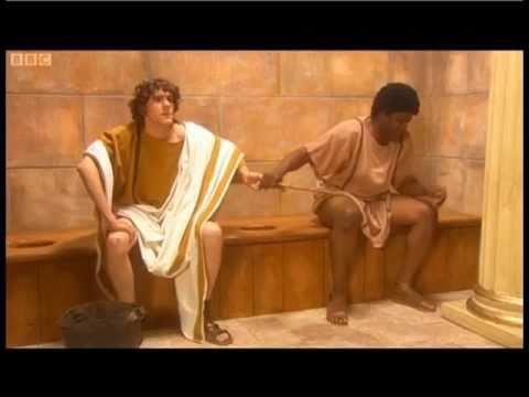 Horrible Histories - Roman Toilets Marcus and Sextus
