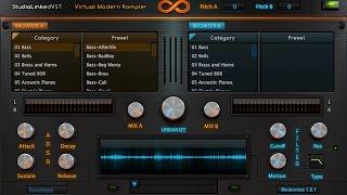 StudioLinked - MODERNIZE (Rompler) AAX,VST,AU (Hip-Hop,EDM,POP)