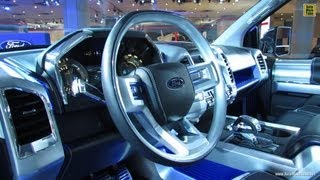 2015 Ford F-150 Atlas Concept - Interior Walkaround - 2013 New York Auto Show