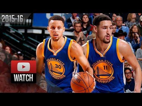 Stephen Curry & Klay Thompson Full Highlights at Mavericks (2016.03.18) - SPLASH BROS!