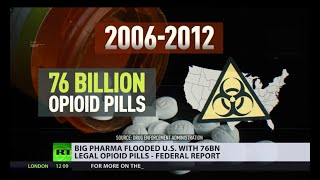 Are US Big Pharma behind the opioid epidemic?