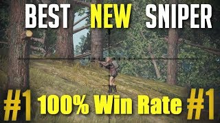 Battlegrounds - The 100% Win Rate Sniper!