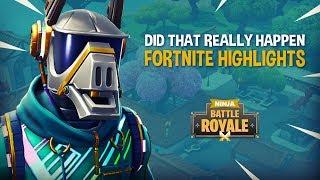 Did That Just Happen?! - Fortnite Battle Royale Highlights - Ninja