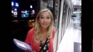Canal 9 Romina Lachman gracias por apoyar la campaña #YoTeAyudo de la Fundación María Cecilia