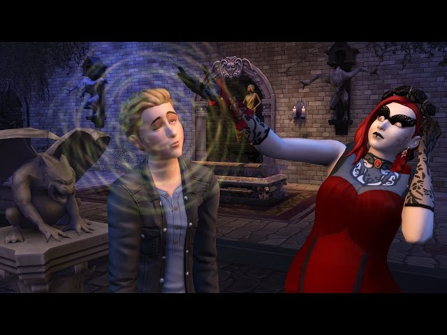 The Sims 4 Vampires: Official Vampire Powers Gameplay Trailer (REACTION)