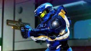 Halo 5 - CLUTCH Fathom Flag Gameplay! (Stream Highlight)