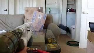 1.00'' caliber breech loading rubber ball cannon