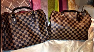 How to tell if your Louis Vuitton Speedy 30 is real or fake