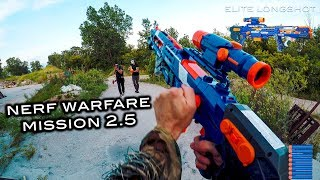 Nerf meets Call of Duty: Campaign | Mission 2.5 (Nerf Warfare First Person Shooter)