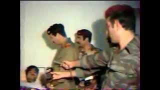 زيارة صدام حسين للجرحى في حرب إيران نادر جدا