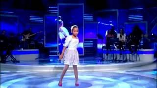 Raul Gil - Jovens Talentos Kids - Franciele Fernanda - Abandonada