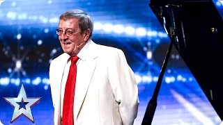 Colin Henry uses his head   Week 3 Auditions   Britain's Got Talent 2016