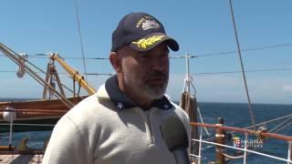 Marina Militare - Nave vespucci lascia Quebec City e saluta il Canada per gli USA