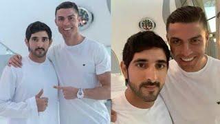 Dubai Crown Prince Sheikh Hamdan and Star Footballer Cristiano Ronaldo Meet in Dubai