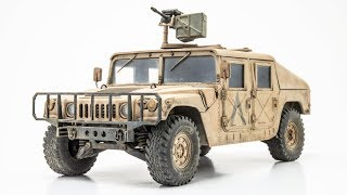 "M1025 HMMWV ""Humvee"" Construction and Weathering"