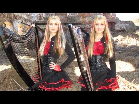 Xxx Mp4 IRON MAIDEN Fear Of The Dark Harp Twins Camille And Kennerly HARP METAL 3gp Sex