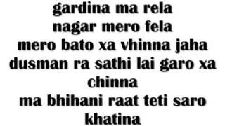 Yama Buddha -Taj(Khatra)  Lyrics Video