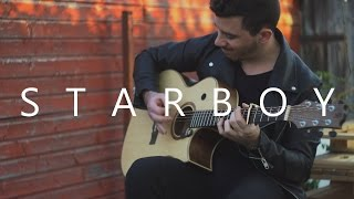 Starboy - The Weeknd (fingerstyle guitar cover by Peter Gergely)