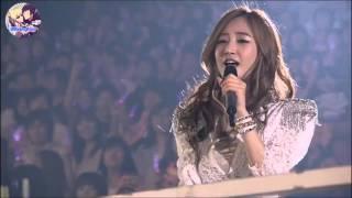 Girls' Generation (SNSD) - Kissing You (Girls' Generation Tour 2011 Japan) [Fanmade Instrumental]