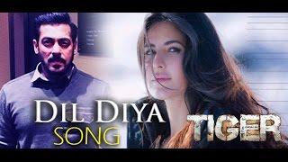 DIL DIYA SONG  : Tiger Zinda Hai | Salman, Katrina